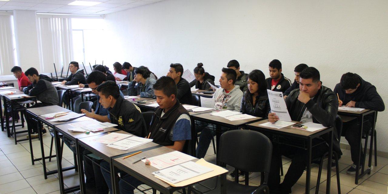 Aplicó UTM primer examen de admisión a 500 aspirantes