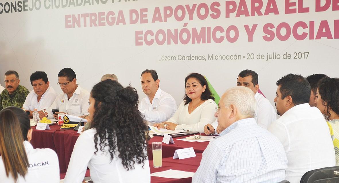 Cuenta Lázaro Cárdenas con Plan de Trabajo para el desarrollo integral del municipio