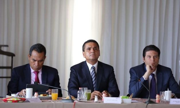 Fuerzas de seguridad, vigentes y activas en todo el estado: Silvano Aureoles