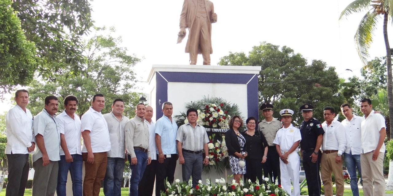 Conmemoran 145 aniversario luctuoso de Don Benito Juárez