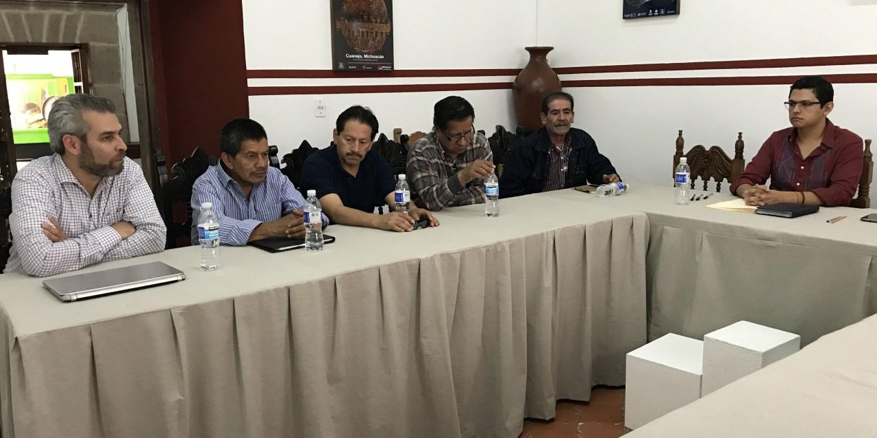 Presenta IAM solicitud para reconocimiento de marcas colectivas michoacanas en la UE