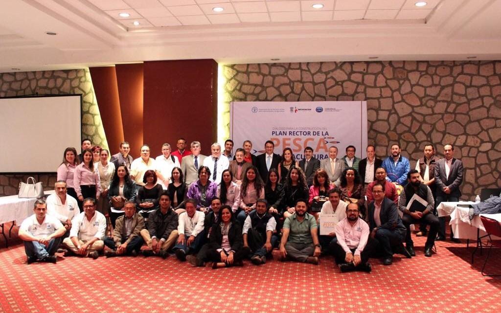 Se formulan estrategias para el desarrollo de la acuacultura y pesca en Michoacán