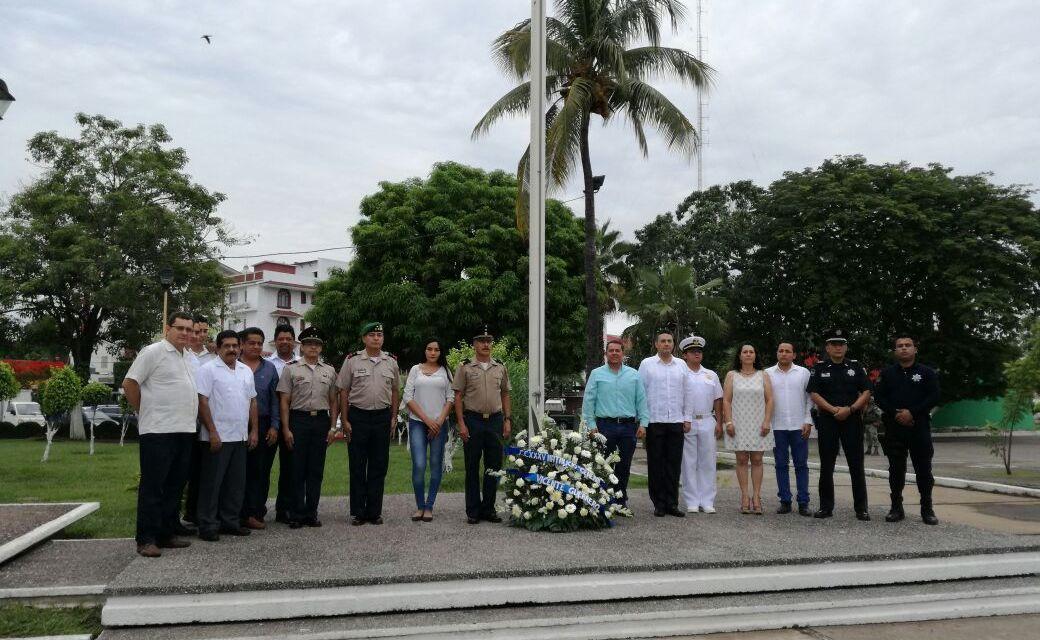 Resaltan valores del General Vicente Guerrero