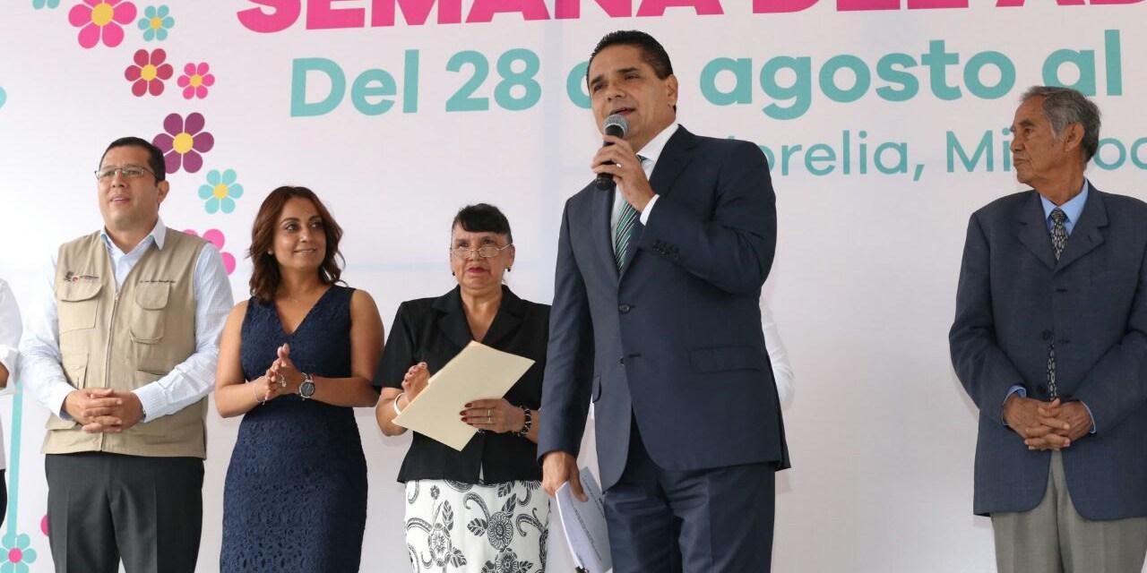 Más y mejores esfuerzos a favor de los adultos mayores: Silvano Aureoles