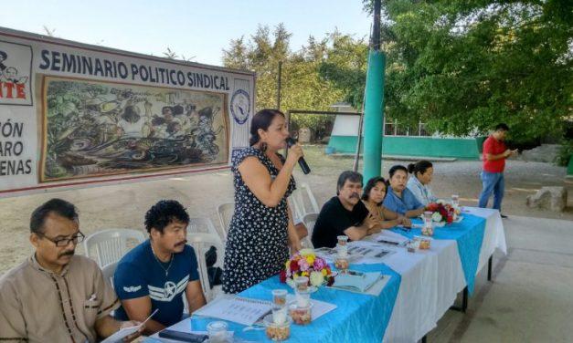 Magisterio Democrático mantiene tomadas oficinas de SEE para ser escuchados
