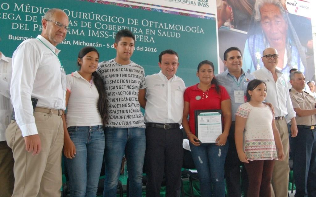 561 MIL PÓLIZAS DE COBERTURA EN SALUD PARA BENEFICIARIOS DE IMSS PROSPERA