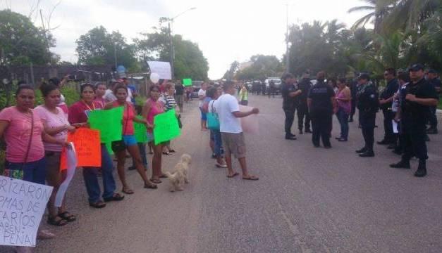 Habitantes de terrenos ejidales podrán ser desalojo hoy en Playa Azul