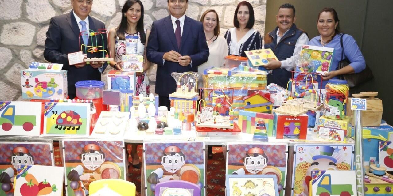En Michoacán se trabaja en conjunto a favor de la niñez: Silvano Aureoles