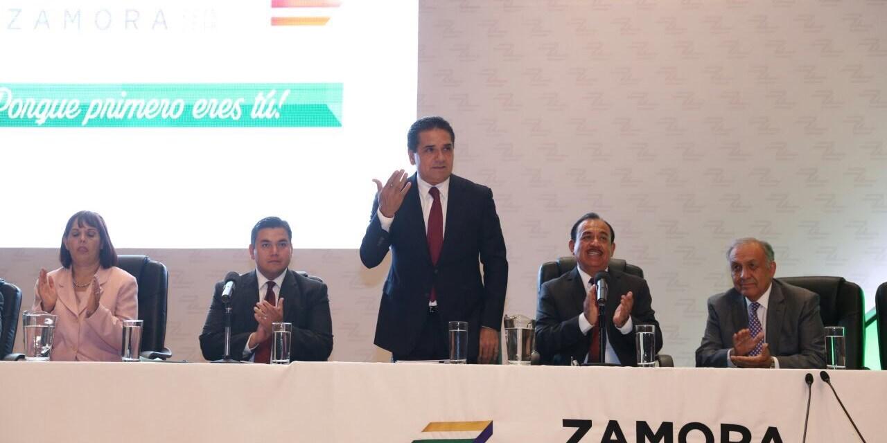 Michoacán tiene un futuro promisorio: Silvano Aureloes