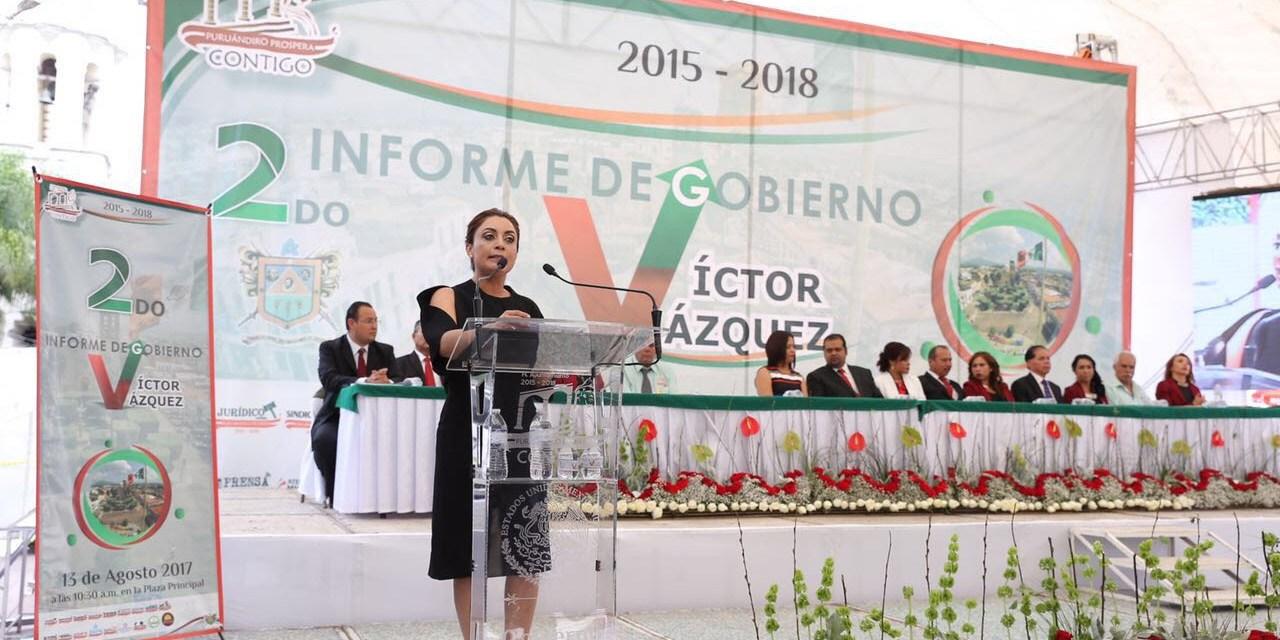 La transformación de Michoacán inicia en sus municipios: Julieta López