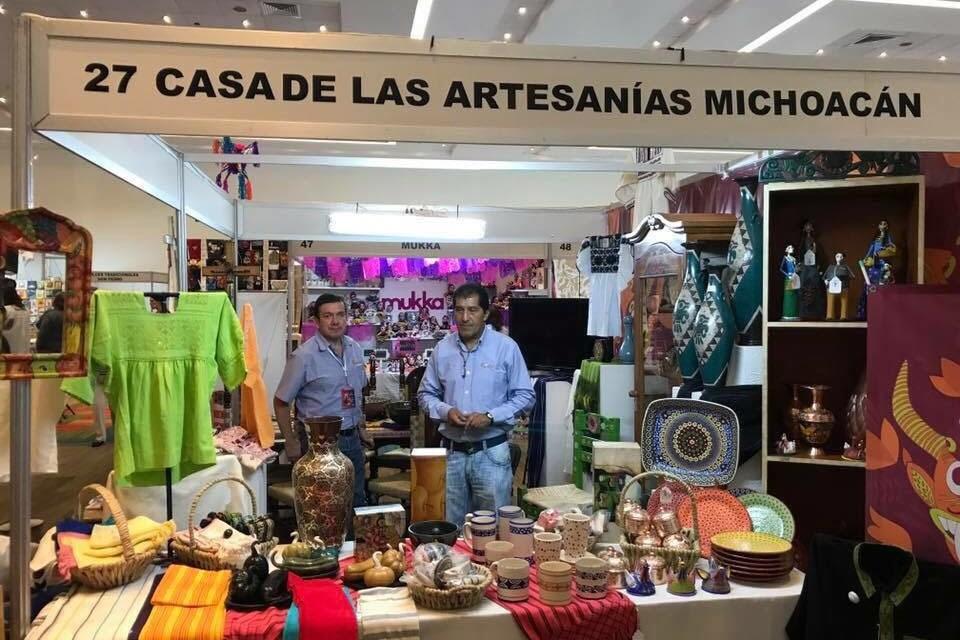 """Artesanía michoacana presente en """"Las Manos del Mundo"""""""