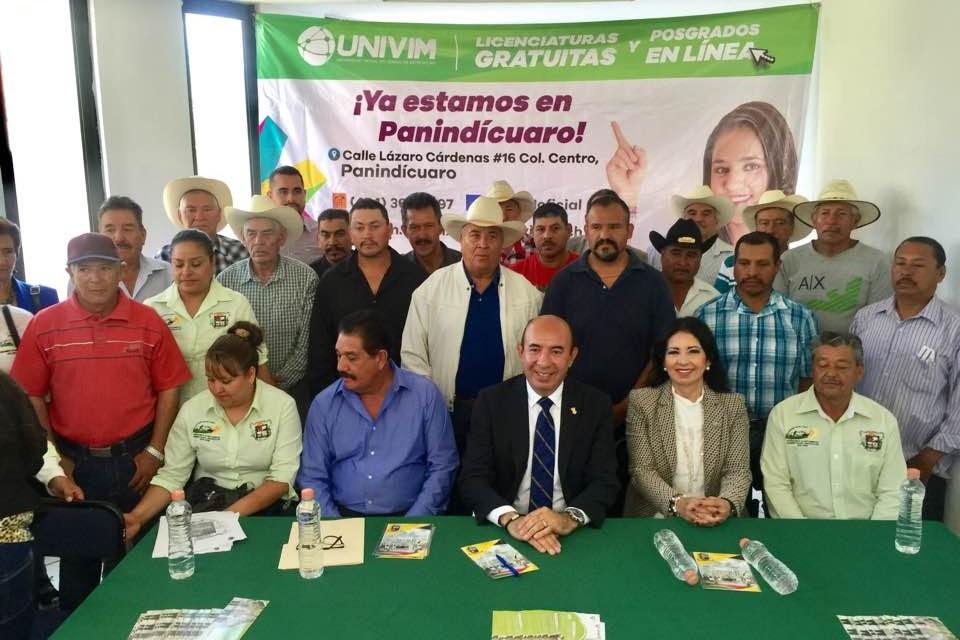 Inauguran UVEU de la Univim en Panindícuaro