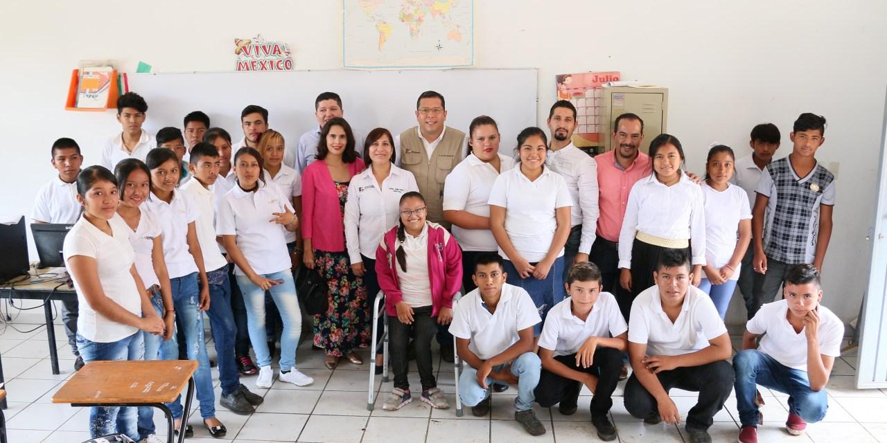 Telebachillerato Michoacán inicia clases en la Nueva Jerusalén