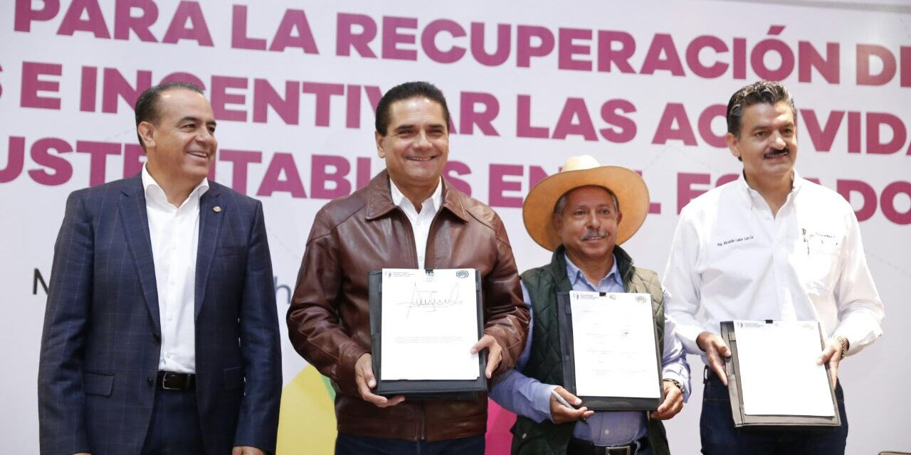 Michoacán inicia nueva etapa rumbo a la sustentabilidad Silvano Aureoles