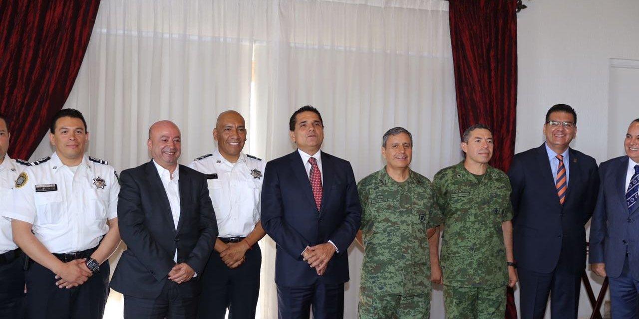 Presentan ante GCM a Rafael Abundiz, nuevo coordinador de PF en Michoacán