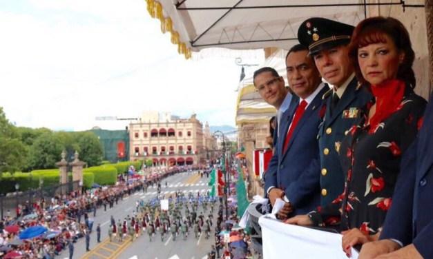 En septiembre refrendamos valores cívicos y unidad como michoacanos: Adrián López
