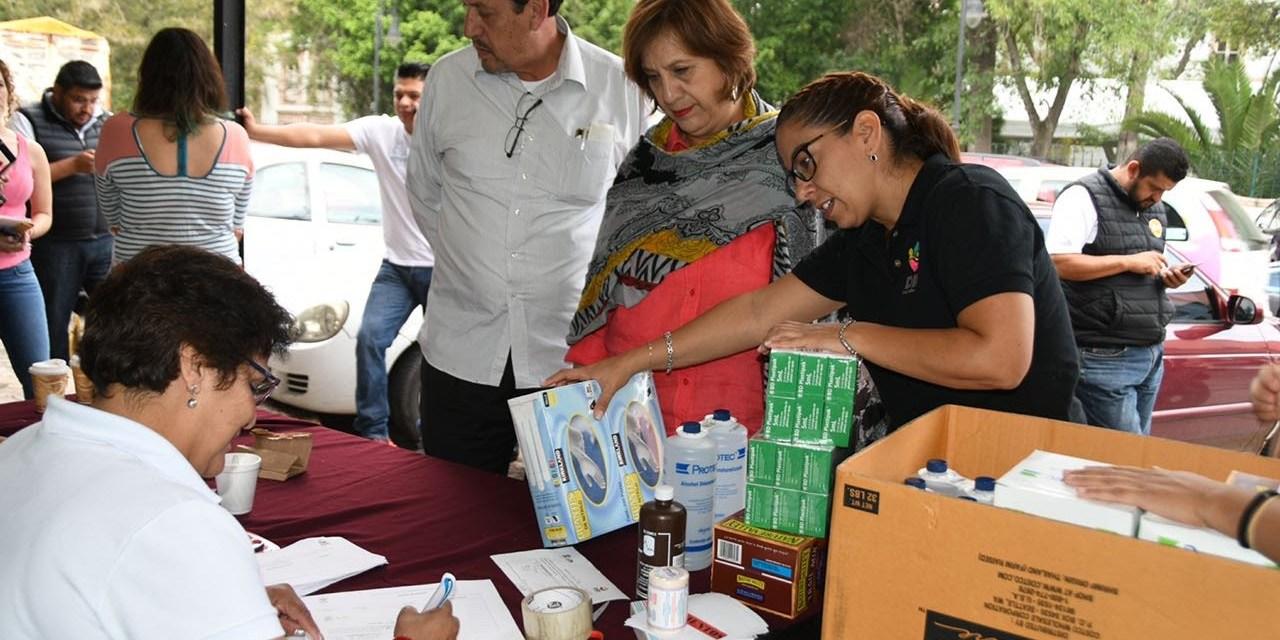 Ayuda humanitaria, por vía institucional: DIF Michoacán
