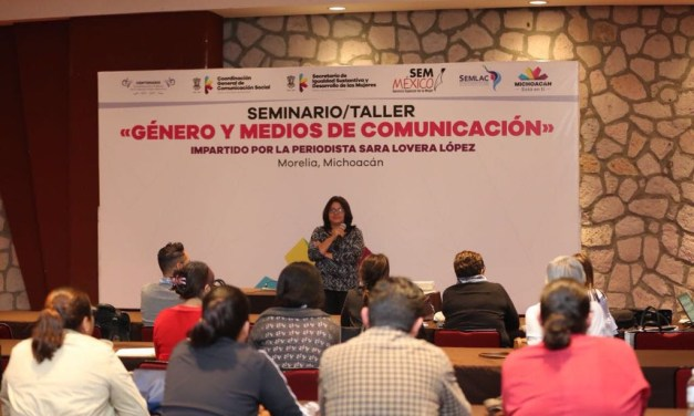 Comparte Soledad Jarquín conocimientos sobre lenguaje incluyente y sin sexismo