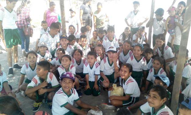 Promueven la conservación del medio ambiente en el Campamento Tortuguero El Habillal