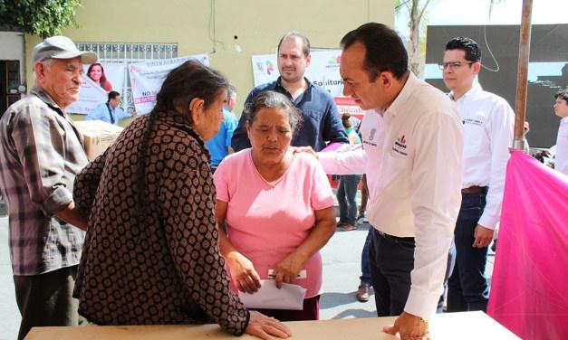 Personas de la tercera edad, prioridad del Gobierno: Antonio Soto