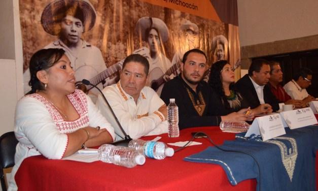 Todo listo para el XLVI Concurso Artístico del Pueblo P'urhépecha