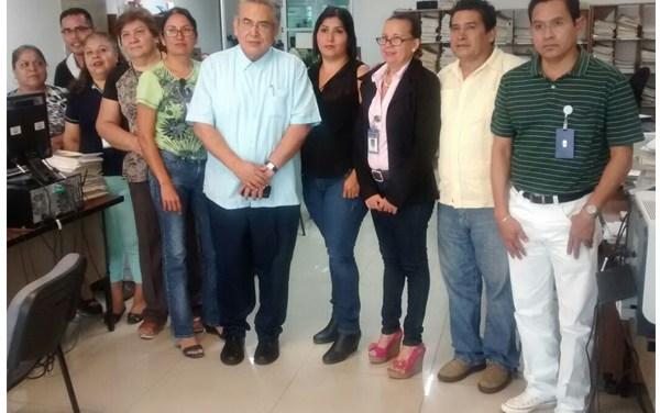 Consejo del Poder Judicial de Michoacán realiza visita de trabajo a los juzgados civiles de LZC