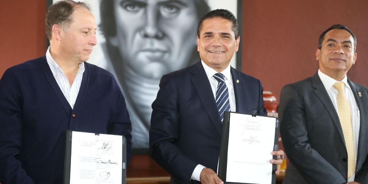 Por una educación integral, en enero arrancarán Academias de Básquetbol: Silvano Aureoles