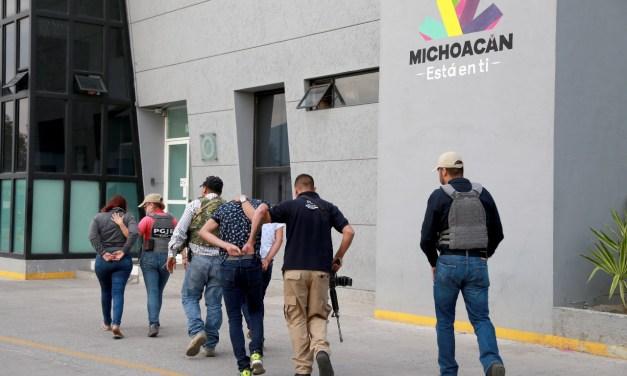 En Michoacán se combate al secuestro con firmeza: PGJE