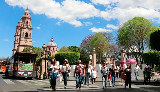 Michoacán, estado atractivo para el turismo nacional y extranjero