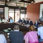 Atiende Gobernador inquietudes del Concejo Mayor de Cherán