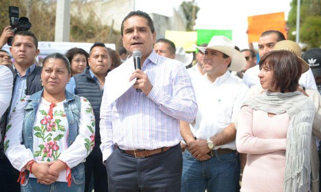 Entrega Gobernador vialidades dignas y seguras en Zitácuaro