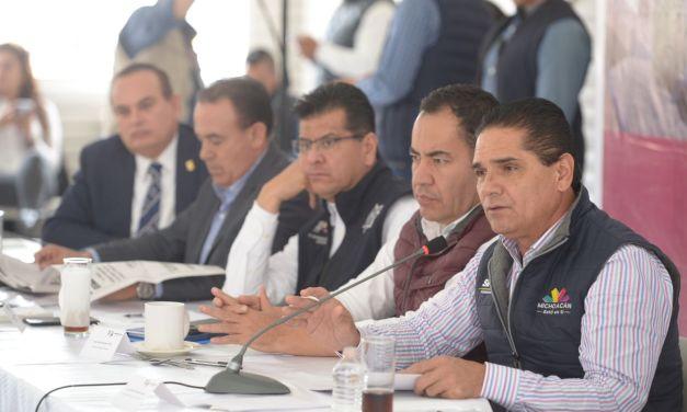 Reingeniería y orden administrativo para dar certeza al estado: Silvano Aureoles