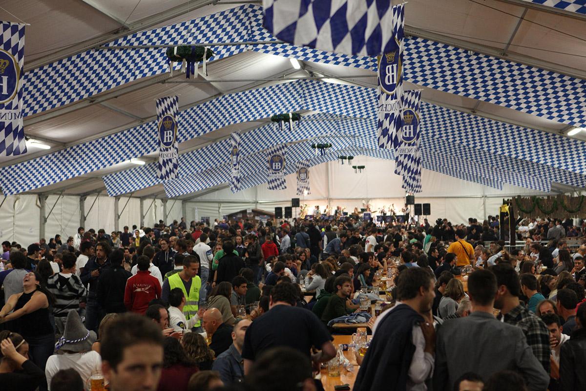 Oktoberfest Genova 2012, Timossi è fornitore ufficiale.