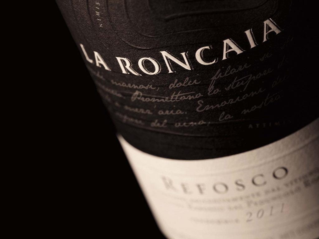 Refosco 2010 La Roncaia, premiato a Decanter 2013 come uno dei migliori vini italiani