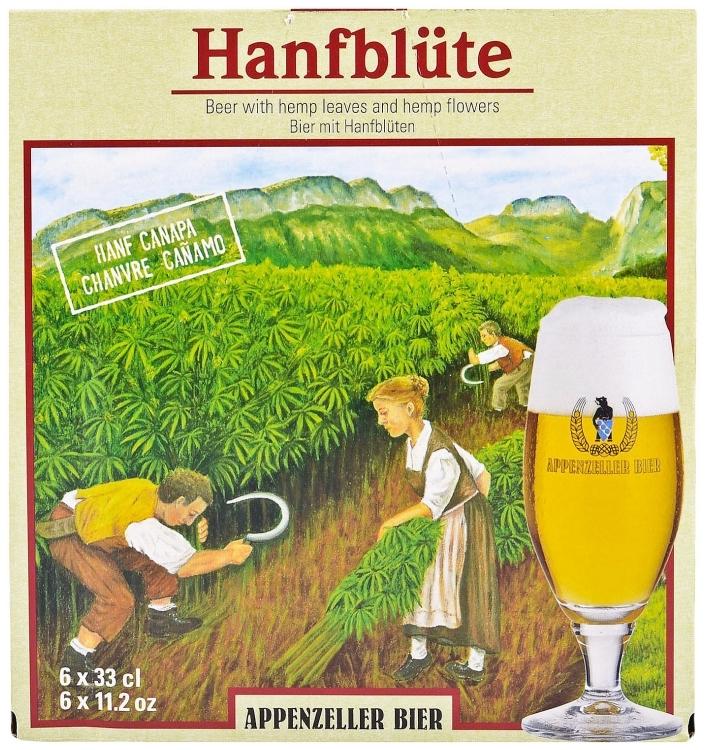 Torna l'original Hanfblute Bier
