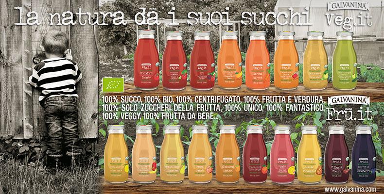 I Succhi Galvanina: frutta da bere allo stato puro