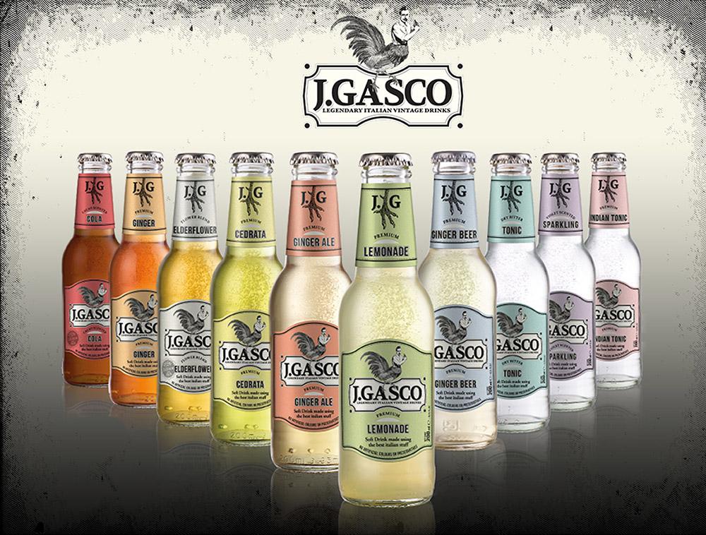 Le bevande J. Gasco, italiane allo stato puro