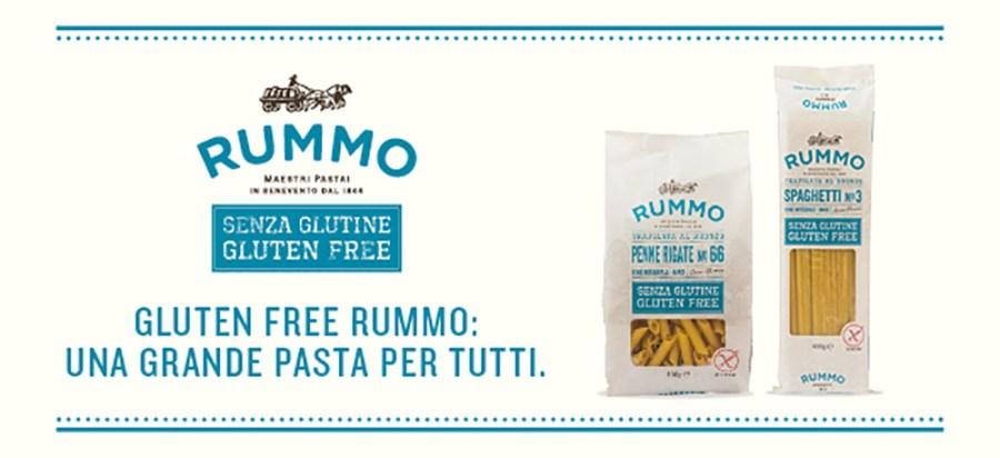 Pasta gluten free Rummo