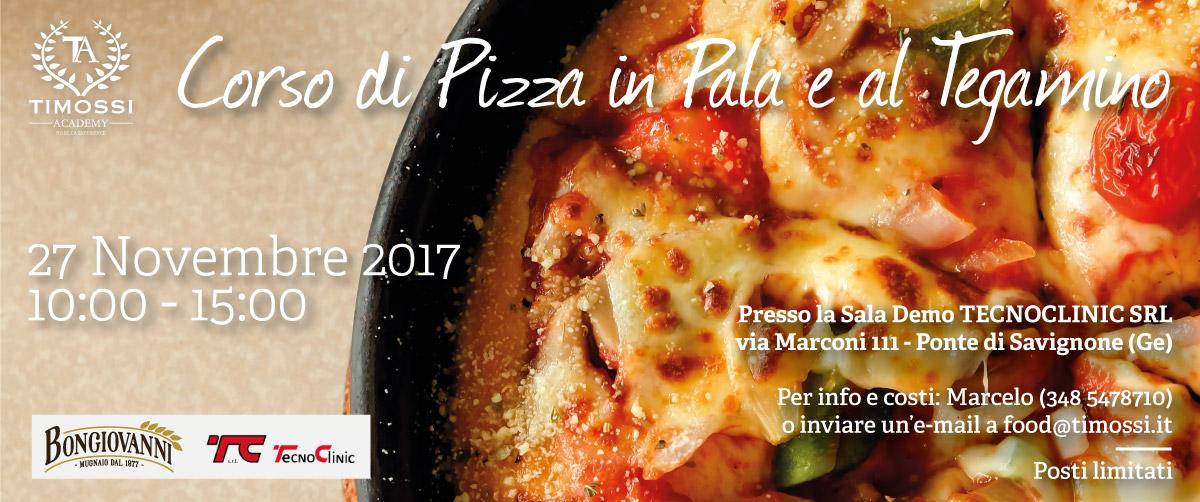 27 Nov 2017 – Corso di Pizza in Pala e al Tegamino