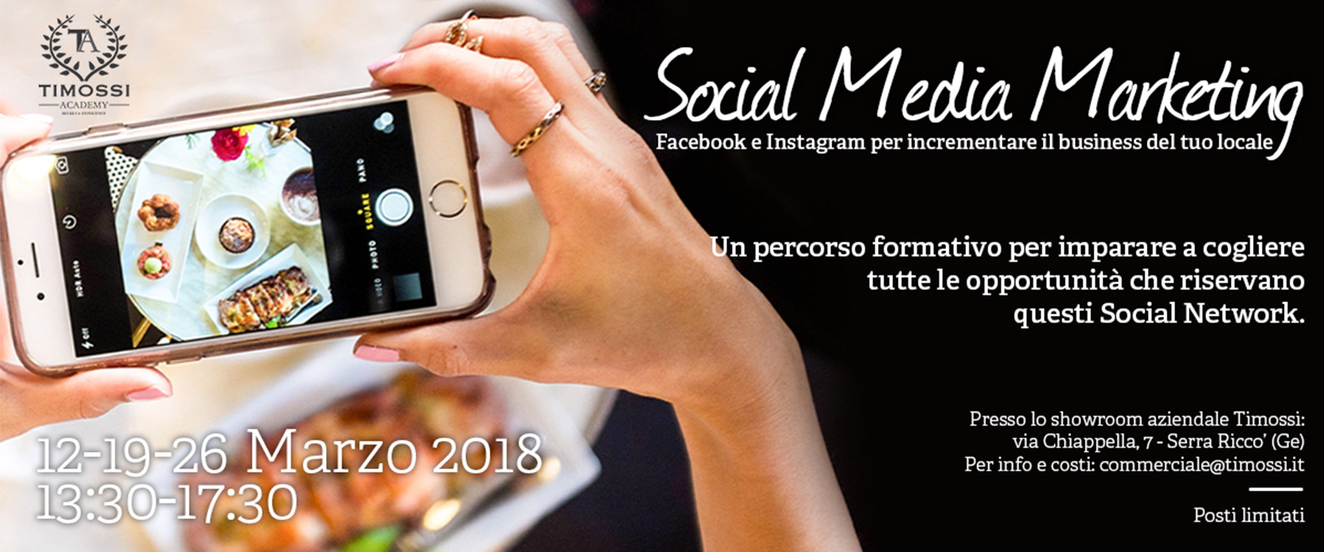 Social Media Marketing: Facebook e Instagram per incrementare il business del tuo locale!