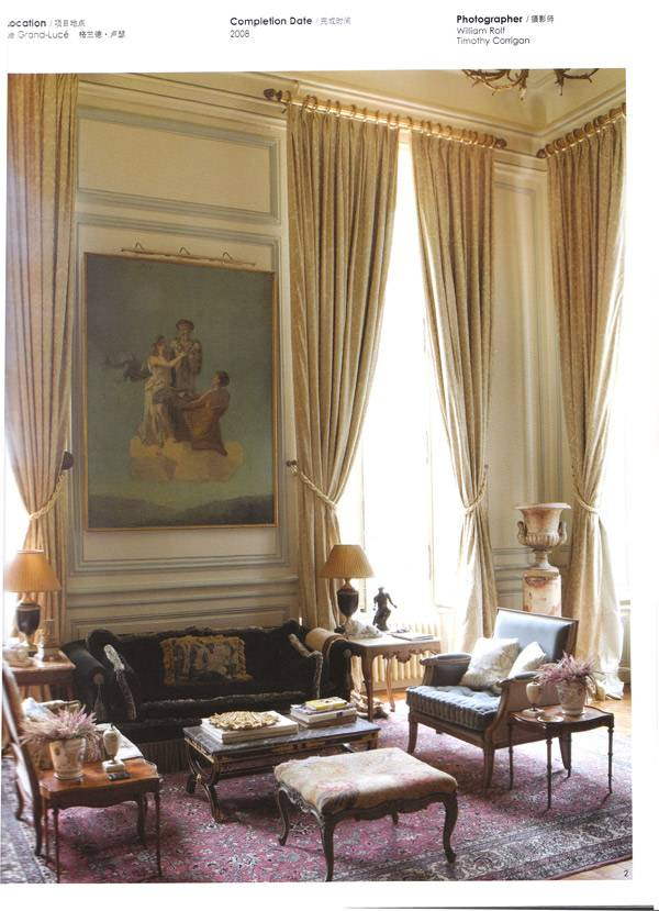Press  Interior Design News  Interior Design in French Classic Style  Timothy Corrigan