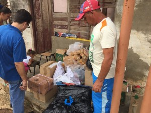 Supplies delivered in Maisí