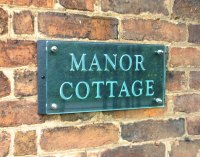 House number plaques | House name plaques