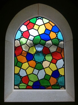 Islamic Mosaic Stained Glass