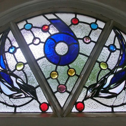 Stained Glass Jewels Gems Magpies Tim Carter