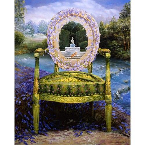 Topiary Chair Series - Fox & Fountain