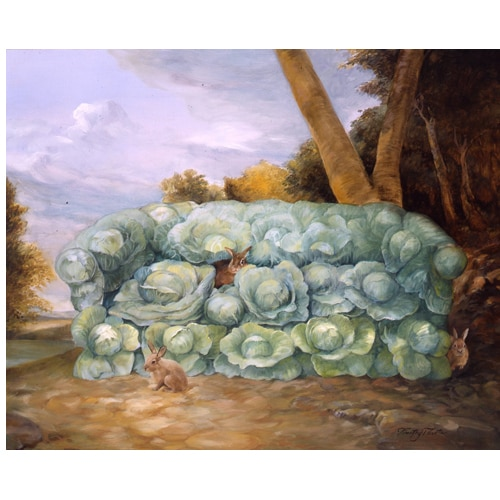 Vegetable Couches - Cabbage