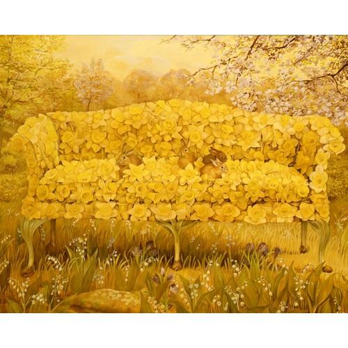 Daffodil Settee