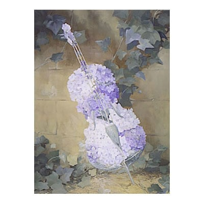 Triptych - Hydrangea Cello