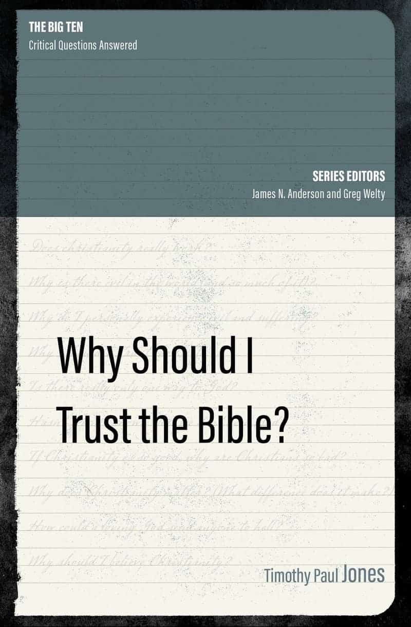 You can download free apologetics curriculum for the book Why Should I Trust the Bible?